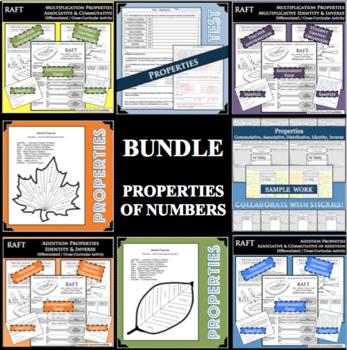 BUNDLE Identifying Properties Algebra Arithmetic Activity