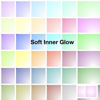 BUNDLE - Inner Glow Square Papers - Commercial Use