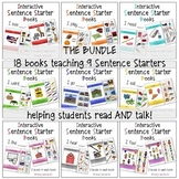 BUNDLE Interactive / Adapted Sentence Starter Books - spec