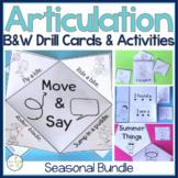 BUNDLE Interactive Speech Activities ALL YEAR & Articulati