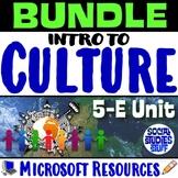 BUNDLE | Intro to Culture Complete 5-E Unit | FUN Cultural Lesson Resources