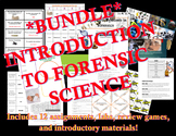 BUNDLE! Introduction to Forensic Science