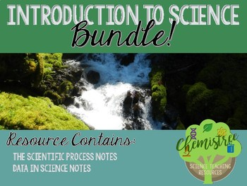 BUNDLE!  Introduction to Science