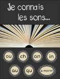 BUNDLE: Je connais les sons (French Sound Worksheets - Packs #1-3)