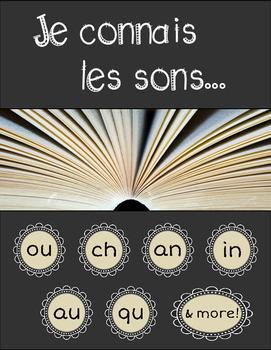 BUNDLE: Je connais les sons (French Sound Worksheets - Pac