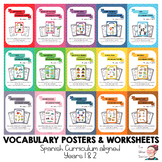 BUNDLE - Key vocabulary posters for Y1 & 2 ESL Spain