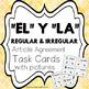 BUNDLE: Kinder Bilingue: Silabas, Palabras, Y Task Cards