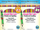 BUNDLE: Kindergarten Phonics and Spelling D'Nealian (Weeks 19-24) {TEKS-aligned}