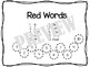 BUNDLE Kindergarten Rainbow Sight Words ALL lists