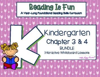 BUNDLE: Reading is Fun: K Foundational Reading Skills Chapter 3 & 4