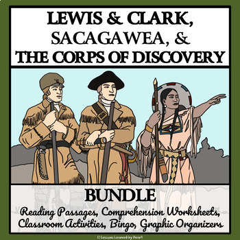 BUNDLE - LEWIS AND CLARK AND THE CORPS OF DISCOVERY