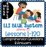 LLI BLUE Comprehension Lessons 1 - 120 BUNDLE