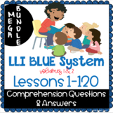 LLI BLUE Comprehension Lessons 1 - 120 BUNDLE