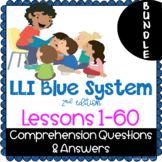 BUNDLE - LLI Blue System - Comprehension Questions + Answe