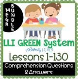 LLI GREEN Kit Comprehension Lessons 1 - 130 BUNDLE