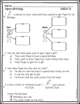 BUNDLE - LLI Green System - Comprehension Questions + Answers - Lessons 41 - 80