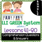LLI GREEN Kit Comprehension Lessons 41 - 80 BUNDLE