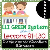 LLI GREEN Kit Comprehension Lessons 81 - 130 BUNDLE