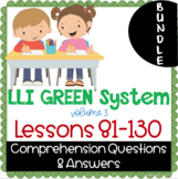 LLI GREEN Kit Comprehension Lessons 81 - 130 BUNDLE