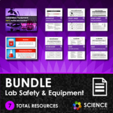 BUNDLE - Lab Safety Rules, Equipment and Techniques