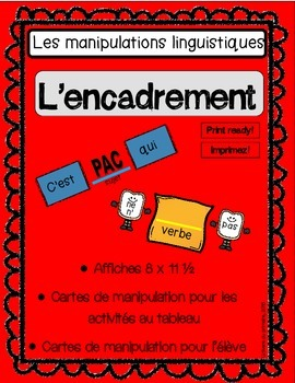 Manipulations linguistiques- En français / French