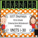BUNDLE Lessons 1-30 Journeys 2017 First Grade Interactive Whiteboard