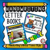 Letter Books with Handwriting Practice Mega Bundle HWT