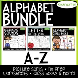 Letter of the Week, Picture Sorts, and Class Book & Emergent Readers   BUNDLE