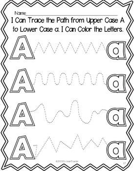 BUNDLE Letter of the Week: Letters A-F Workbooks