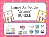 BUNDLE Letters Aa Thru Zz Journals