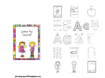 BUNDLE Letters Aa Thru Zz Journals