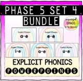 BUNDLE Letters and Sounds Phase 5 Set 4 Explicit Phonics a-e e-e i-e o-e u-e