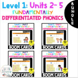 BUNDLE  Level 1 Units 2 - 5 BOOM CARDS Distance Learning