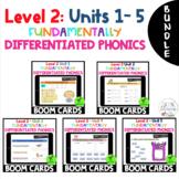 BUNDLE - Level 2 Units 1 - 5 FUNdamentally Differentiated