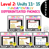 BUNDLE Level 2 Units 11 - 15 Digital BOOM CARDS Distance Learning