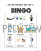 Light and Sound Waves Bingo and Word Searches 1st Grade BUNDLE