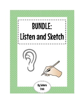 BUNDLE Listen and Sketch: Listen and Draw for Comprehension