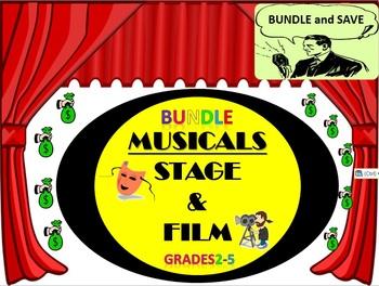BUNDLE: Listening Activities: Musical Theater: Grades 2-5
