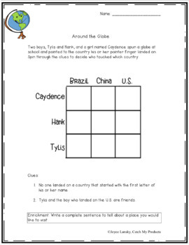 Logic Puzzle Fun for Primary