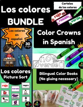 BUNDLE Los Colores (Spanish Colors)