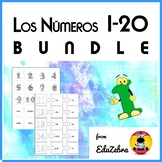 Numbers in Spanish - BUNDLE - Los Números 1-20