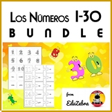 Numbers in Spanish - BUNDLE - Los Números 1-30