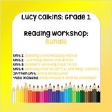 BUNDLE: Lucy Calkins 1st Grade Reading Workshop (5 Units a