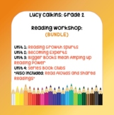 Lucy Calkins - 2nd Grade - Reading Workshop BUNDLE: 4 Units and 4 Read Alouds