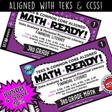 BUNDLE ~ MATH READY 3rd Grade Task Cards – Financial Literacy {TEKS-aligned}