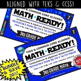 BUNDLE~MATH READY 3rd Grade Task Cards: Multiply/Divide 1-