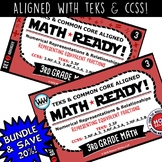 3.3F BUNDLE   3rd Grade Math Task Cards – Representing Equivalent Fractions