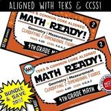 4.6D BUNDLE  4th Grade Math Task Cards  - Classifying 2-Dimensional Figures