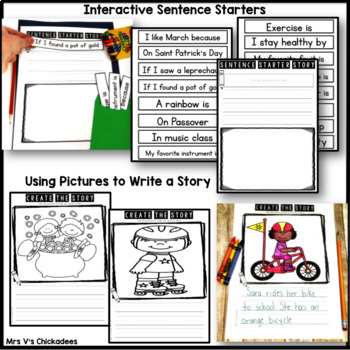 March Writing Activities and Centers