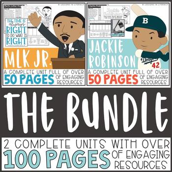 BUNDLE: Martin Luther King Jr. and Jackie Robinson